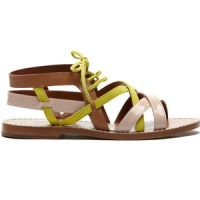 5 Hot Yellow Tila March Sandals ...