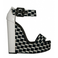 4 Chic White Pierre Hardy Wedges ...
