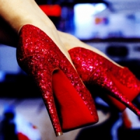 9 Pairs of Rockin' Red Shoes ...