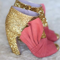 7 Ways to Wear Glitter Booties ...