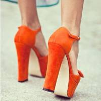 Need Some Color in Your Life? Try These 29 Pairs of Orange Heels ...