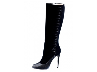 6 Fabulous Black Arfango Boots and Booties ...