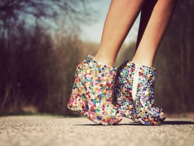 9 Delightfully Gorgeous Multi-Colored Shoes To Brighten Up Your Fall ...