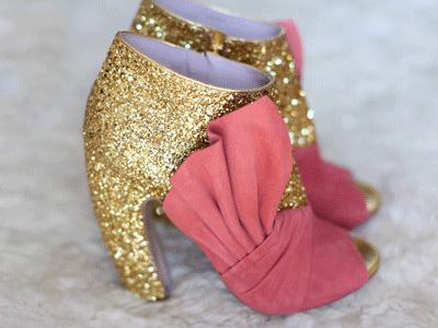 7 Ways to Wear Glitter Booties ...