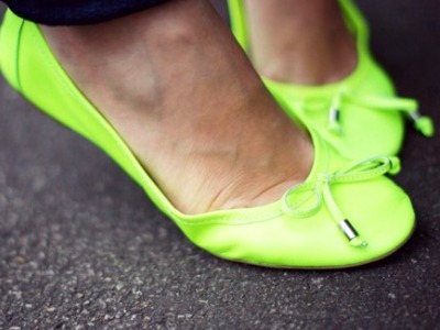 7 Funky Neon Flats ...