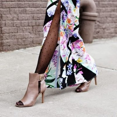 Hello, Toes! Check out These 28 Peep Toe Booties to Take You from Summer to Fall ...