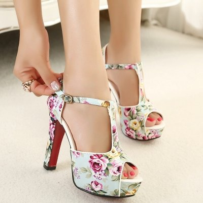 Step out in Fashionable Floral Heels for Your Next Event ...