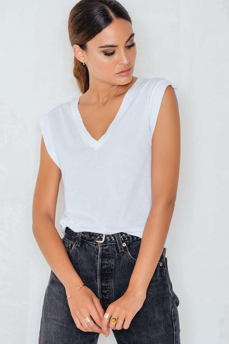Summer V-neck Tee by Filippa K