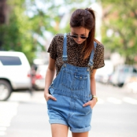 7 Fabulous Street Style Ways to Wear Overalls ...