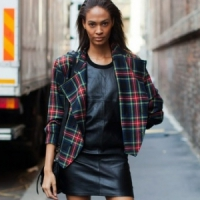 7 Tartan Street Style Looks to Inspire Your Fall Wardrobe ...