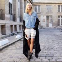 9 Street Style Ways to Wear a Classic Denim Shirt ...
