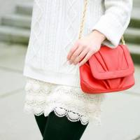 Trend Alert: White Lace Skirts! ...