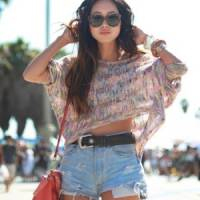 7 Street Style Outfits with Denim Shorts to Recreate ...