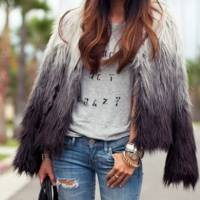 7 Street Style Ways to Wear Faux Fur This Fall ...