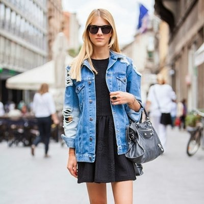 7 Street Style Ways to Wear a Denim Jacket ...