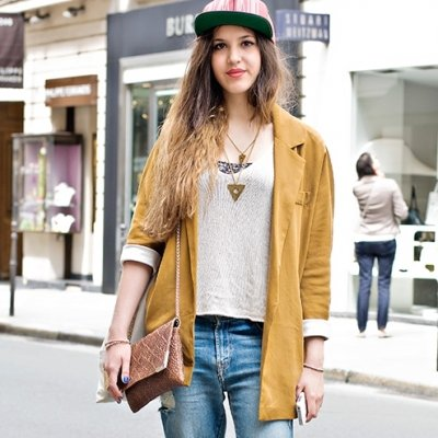 9 Street Style Ways to Look Tomboy Chic ...