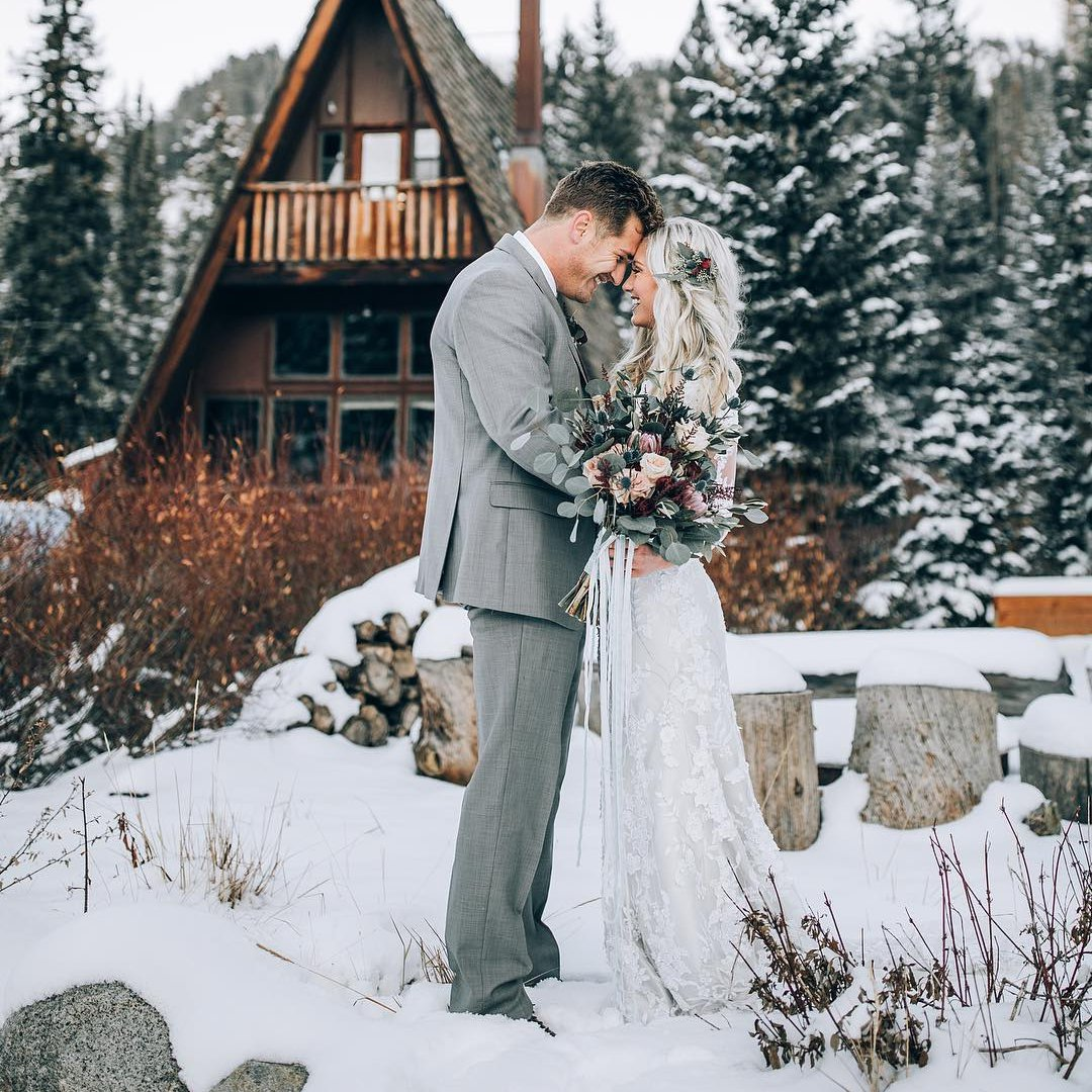 "14 Pictures 📸 for Winter ❄️ Wedding 👰 Inspiration 💡 That Will Make You 👍 Want to Say ""I do"" 💍 ..."