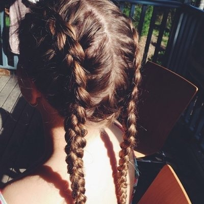 Show off Your Beauty in These Braided Pigtails ...