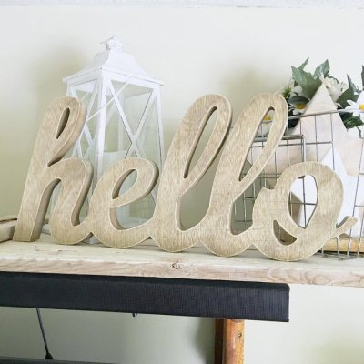 You'll Love ❤️ These 21 DIY Projects 🎨 Using Letters 🔠🔤 ...