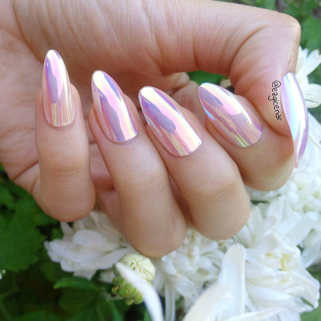 38 Stunningly Fab 👏🏼 Metallic Nail Art 💅🏼 Ideas for Edgy Girls 👩🏻👩🏿👩🏼👩🏽 ...