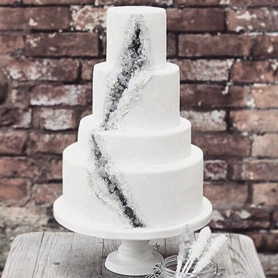 These 21 Geode Wedding Cakes Will Blow Your Mind 💍 🍰 💞 ...