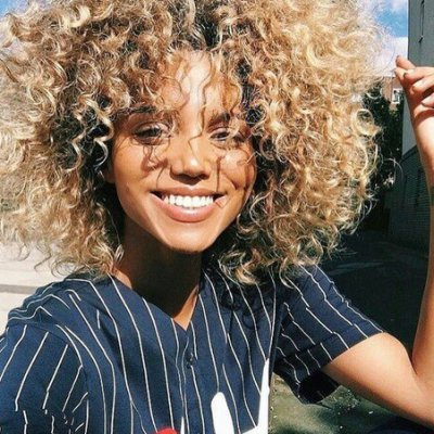 Natural 🌿 Ways to Relax Curls 🌀 without All the Harsh Chemicals ⚗️ ...