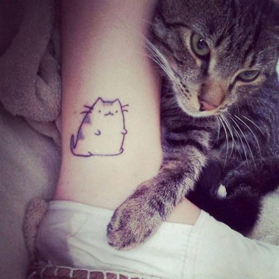 Anyone with a Cat Will Love These Cat Tattoos ...