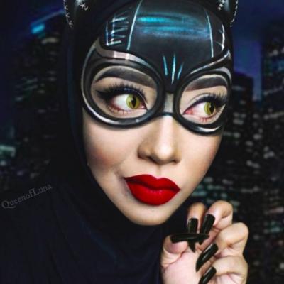 Saraswati's Stunning Hijab Style Slays the Transformation Game ...