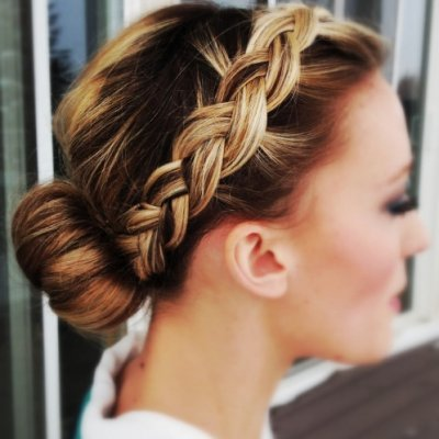 17 Braid Updos for Girls Who Are Sick of Wearing Regular Braids ...