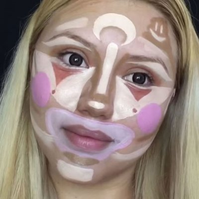 How Clown Contouring is Done ...