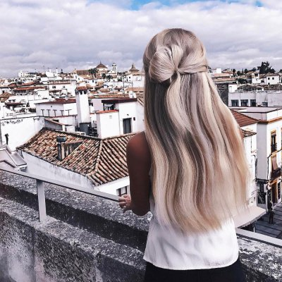 10 10-Second ⏱ Hairstyles for Busy Girls on the Go 🚗 ...