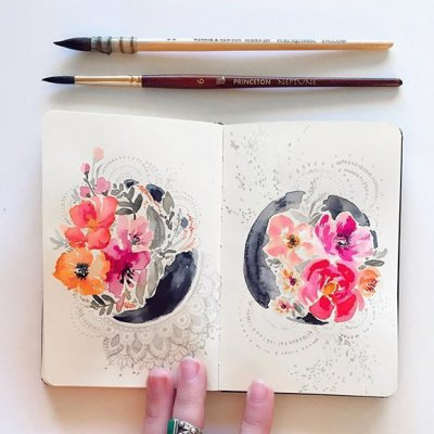 These 👆🏼👈🏼 Tutorials Will Help You Learn 🙏🏼 How to Use Watercolors 🎨 ...
