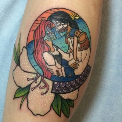 Majestic Mermaid Tattoos Meant to Make You Smile ...