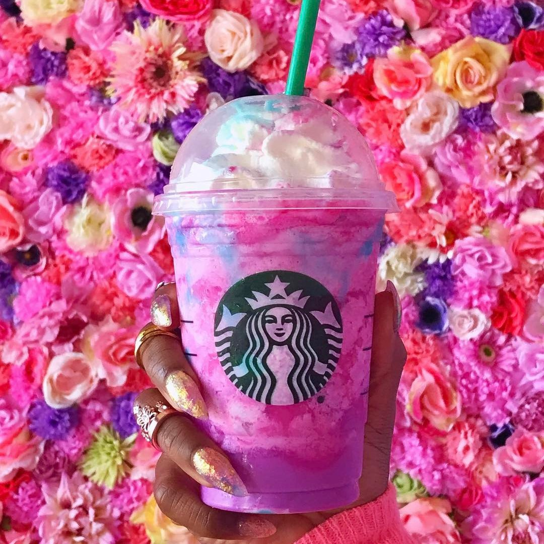 A Delicious 😋 Unicorn Frappuccino 🦄 Hack You Never Knew 🤔 You Needed in Life 🌎 ...