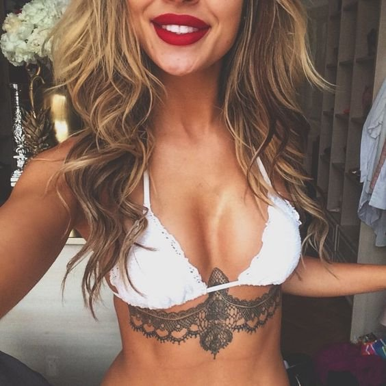 20 Best Places for Women 💁🏻🙌🏻💪🏾✋🏼👄to Get Tattoos 💕☠🖋🔯♓️🈹 ...