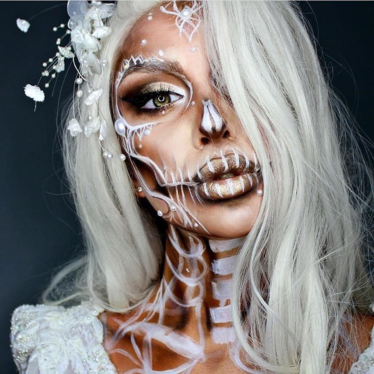 13 Breathtakingly 😱 Creepy Halloween 🎃 Makeup 💄 Ideas 💡 from Instagram 📱 ...