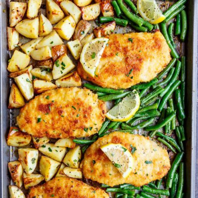 23 Easy and Tasty 👅 Sheet Pan Dinners 🍱 for Girls with Busy Nights ⏱ ...