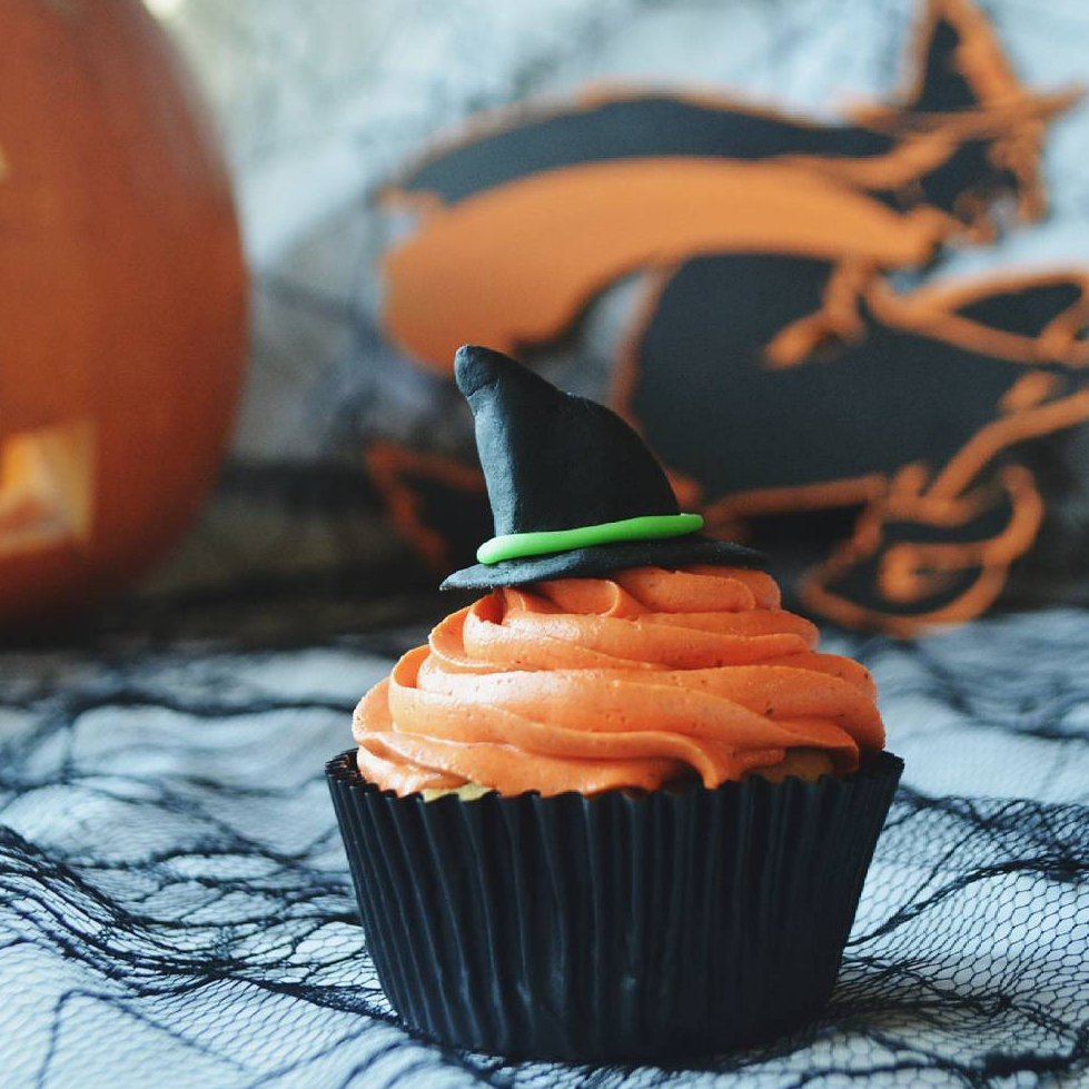 Halloween 👻 🎃 Cupcakes Ideas 🍰 for Girls Who Want to Throw the Best Party 🎉 Ever ...