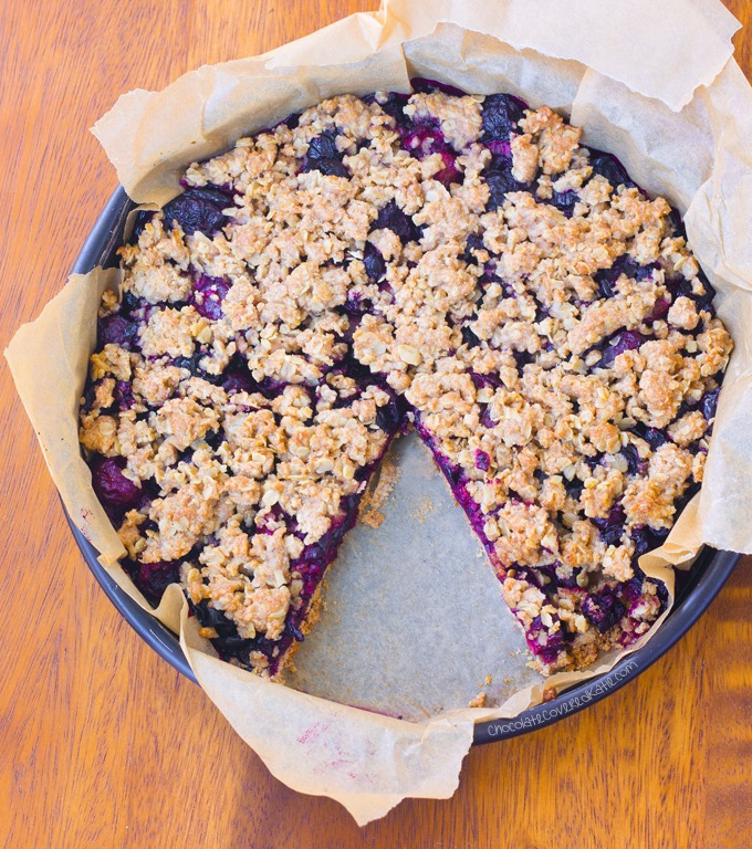 Oatmeal Cherry Crumble Pie – Clean Eating Recipe and other good reads for today ...