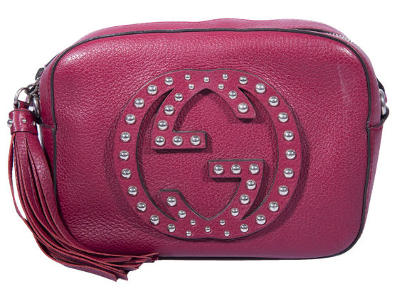 3fa51667b02 Gucci Maroon Soho Disco Crossbody Bag is undoubtedly perfect to wear on your  wedding night. This one is one of the best collections of Gucci handbags in  ...