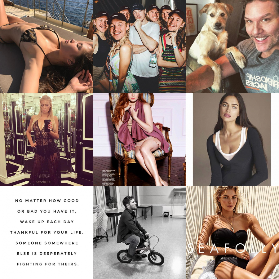Today Trending on Instagram by Jessica Hart, Ellen, Jodi Anasta ...