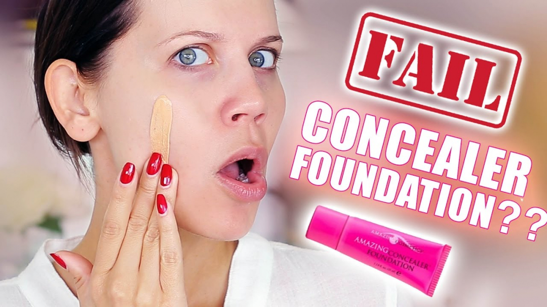 AMAZING CONCEALER FOUNDATION ... FAIL 🎥