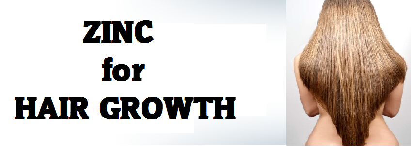 zinc hair regrowth