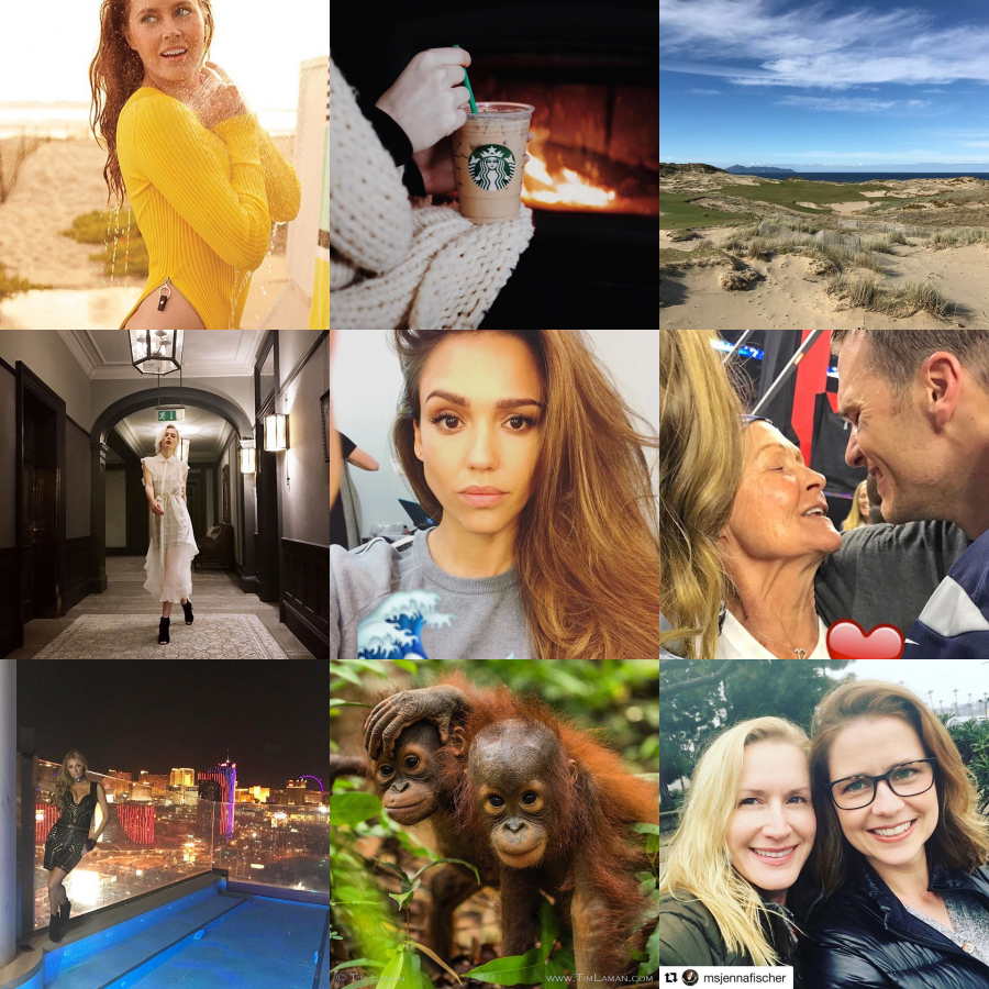 Today Trending on Instagram by Starbucks Coffee ☕, Jessica Alba, Coco Rocha ...