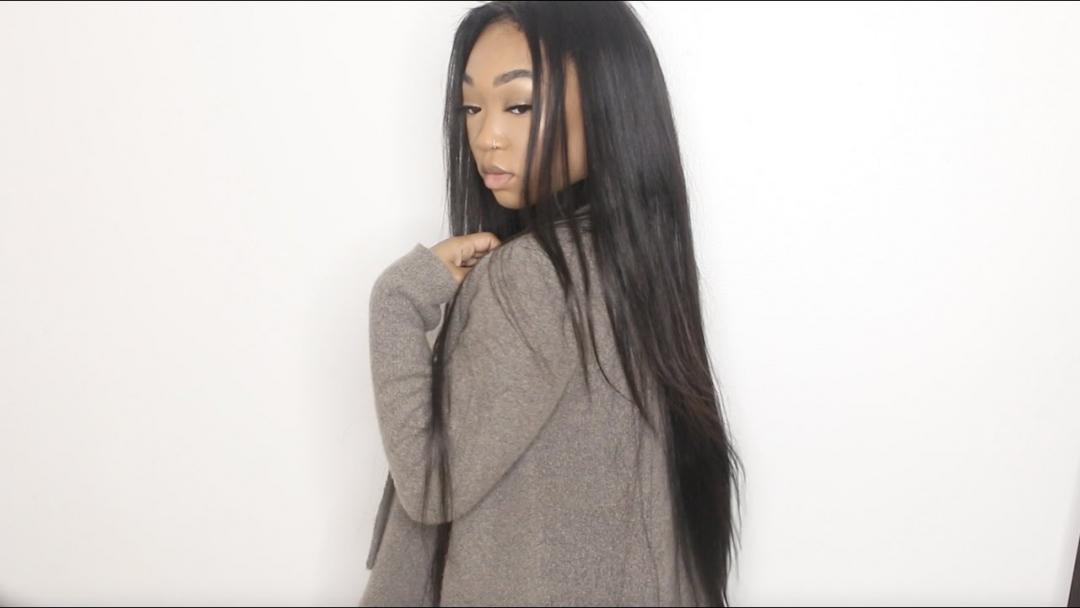 Annabelle Brazilian Straight Hair Review Aliexpress DOLLFACEBEAUTYX 🎥