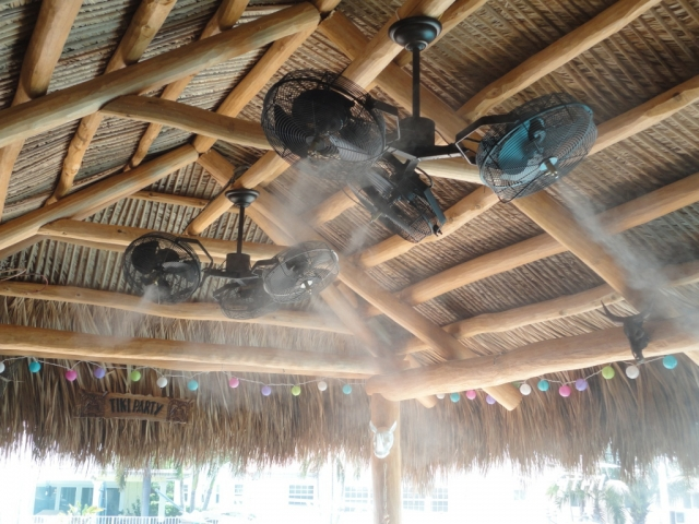 Charmant Outdoor Ceiling Fans Vs. Misters