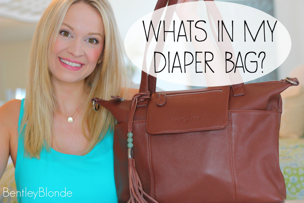 WHAT'S IN MY DIAPER BAG?! ♡ Lily Jade Madeline 🎥