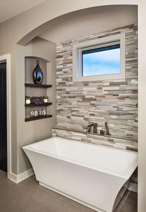 modern bathroom bath trends houzz. beautiful ideas. Home Design Ideas