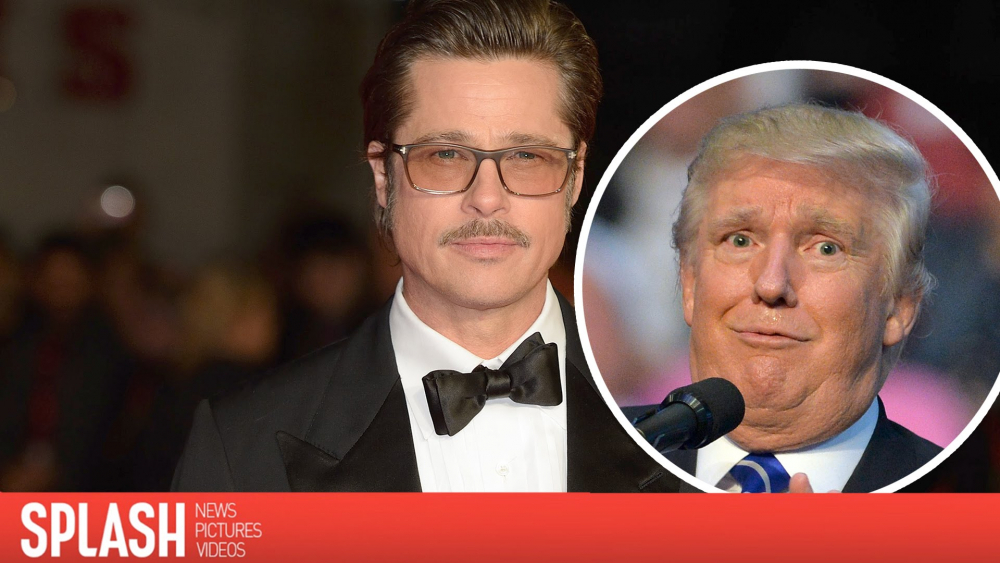 Brad Pitt Slams Donald Trump in New Interview | Splash News TV 🎥
