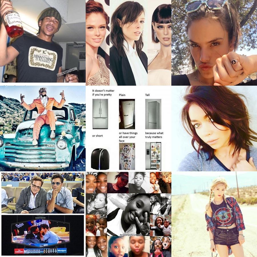 Today Trending on Instagram by Coco Rocha, BREEZY, Abbie Cornish ...